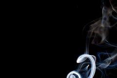 μαύρος καπνός Στοκ Εικόνες