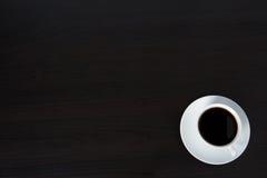 μαύρος καφές ανασκόπησης Στοκ Εικόνες