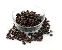 μαύρος καφές κύπελλων Στοκ φωτογραφίες με δικαίωμα ελεύθερης χρήσης
