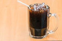 Μαύρος καφές πάγου Στοκ φωτογραφία με δικαίωμα ελεύθερης χρήσης
