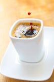 μαύρος καφές Στοκ Εικόνες