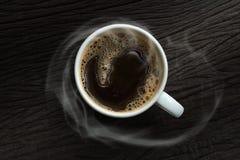 μαύρος καφές στοκ εικόνα