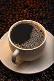 μαύρος καφές Στοκ εικόνα με δικαίωμα ελεύθερης χρήσης