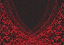 μαύρος κόκκινος Ιστός δα&nu διανυσματική απεικόνιση