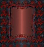 μαύρος κόκκινος τρύγος Στοκ Εικόνες
