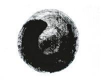 Μαύρος κύκλος grunge Στοκ φωτογραφίες με δικαίωμα ελεύθερης χρήσης