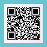 μαύρος κώδικας qr στην αυτοκόλλητη ετικέττα της Λευκής Βίβλου για το σχέδιο και το σχέδιο, vect στοκ εικόνα
