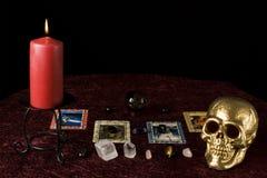 Μαύρος μαγικός Στοκ φωτογραφίες με δικαίωμα ελεύθερης χρήσης