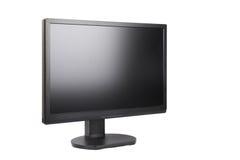 μαύρος μηνύτορας LCD Στοκ Φωτογραφία