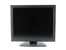 μαύρος μηνύτορας LCD Στοκ Εικόνα