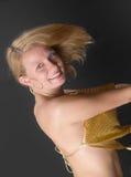 μαύρος ξανθός ανασκόπησης Στοκ Φωτογραφίες