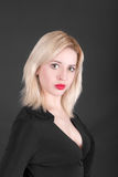 μαύρος ξανθός ανασκόπησης Στοκ Φωτογραφία