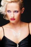 μαύρος ξανθός δελεαστι&kapp Στοκ φωτογραφία με δικαίωμα ελεύθερης χρήσης