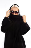 μαύρος ξανθός χαριτωμένος & Στοκ φωτογραφία με δικαίωμα ελεύθερης χρήσης