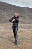 μαύρος ξανθός Στοκ φωτογραφία με δικαίωμα ελεύθερης χρήσης