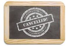 Μαύρος πίνακας με το βαλμένο σε στρώσεις μήνυμα κιμωλίας στοκ εικόνα με δικαίωμα ελεύθερης χρήσης