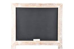 Μαύρος πίνακας στο άσπρο υπόβαθρο Στοκ εικόνες με δικαίωμα ελεύθερης χρήσης