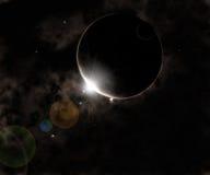 μαύρος πλανήτης Στοκ Φωτογραφία