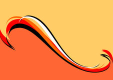 μαύρος πορτοκαλής ανασ&kapp Στοκ εικόνες με δικαίωμα ελεύθερης χρήσης
