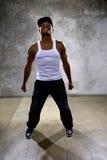 Μαύρος που εκτελεί τη χορογραφία χορού χιπ χοπ στοκ φωτογραφίες με δικαίωμα ελεύθερης χρήσης