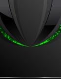 μαύρος πράσινος ανασκόπησ& Απεικόνιση αποθεμάτων