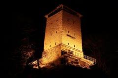 μαύρος πύργος στοκ φωτογραφίες