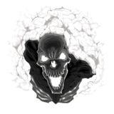 Μαύρος σκελετός. απεικόνιση αποθεμάτων