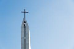 μαύρος σταυρός Στοκ φωτογραφίες με δικαίωμα ελεύθερης χρήσης