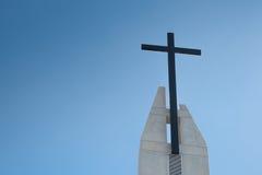 μαύρος σταυρός Στοκ Φωτογραφίες