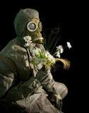μαύρος στρατιώτης λουλ&omicr Στοκ Φωτογραφία
