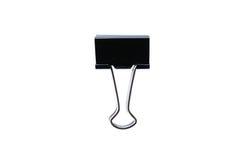 μαύρος συνδετήρας Στοκ φωτογραφία με δικαίωμα ελεύθερης χρήσης