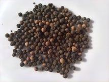 Μαύρος σωρός πιπεριών Nigrum αυλητών στοκ φωτογραφίες