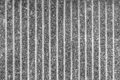 Μαύρος τοίχος πετρών γρανίτη μαργαριταριών Στοκ Εικόνες