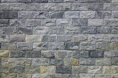 Μαύρος τοίχος πετρών γρανίτη στο σύγχρονο κτήριο Στοκ εικόνες με δικαίωμα ελεύθερης χρήσης