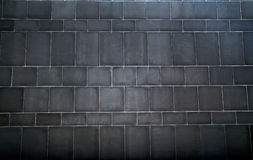 Μαύρος τοίχος Στοκ Εικόνα