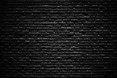 Μαύρος τουβλότοιχος, υπόβαθρο πλινθοδομής στοκ εικόνες