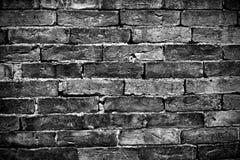 μαύρος τουβλότοιχος Στοκ εικόνες με δικαίωμα ελεύθερης χρήσης