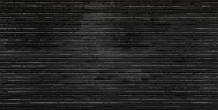 Μαύρος τουβλότοιχος Στοκ φωτογραφίες με δικαίωμα ελεύθερης χρήσης