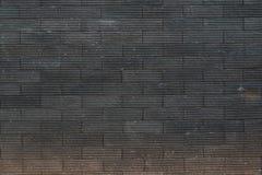 Μαύρος τουβλότοιχος για το υπόβαθρο Στοκ φωτογραφία με δικαίωμα ελεύθερης χρήσης