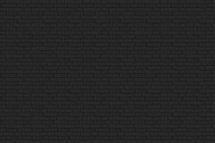 Μαύρος τουβλότοιχος Στοκ Εικόνες