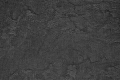 Μαύρος τραχύς συμπαγής τοίχος - λεπτόκοκκη επιφάνεια με το μικρό cra στοκ φωτογραφίες με δικαίωμα ελεύθερης χρήσης