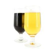 μαύρος χρυσός μπύρας Στοκ εικόνα με δικαίωμα ελεύθερης χρήσης