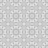 μαύρο άνευ ραφής λευκό πρ&omicron Διακοσμητική διακόσμηση για το χρωματισμό του βιβλίου Στοκ φωτογραφία με δικαίωμα ελεύθερης χρήσης