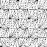 μαύρο άνευ ραφής λευκό πρ&omicron Στοκ φωτογραφίες με δικαίωμα ελεύθερης χρήσης