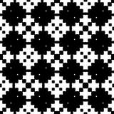 μαύρο άνευ ραφής λευκό πρ&omicron Στοκ εικόνες με δικαίωμα ελεύθερης χρήσης