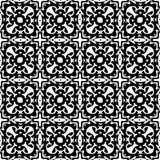 μαύρο άνευ ραφής λευκό πρ&omicron Στοκ εικόνα με δικαίωμα ελεύθερης χρήσης