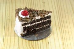 μαύρο δάσος κέικ Στοκ Εικόνες