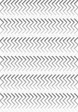Μαύρο & άσπρο σχέδιο λωρίδων ελεύθερη απεικόνιση δικαιώματος