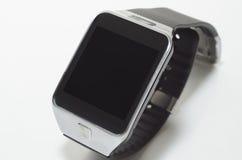 Μαύρο έξυπνο ρολόι Στοκ εικόνα με δικαίωμα ελεύθερης χρήσης