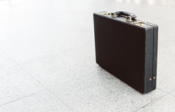 μαύρο δέρμα χαρτοφυλάκων Στοκ Φωτογραφία